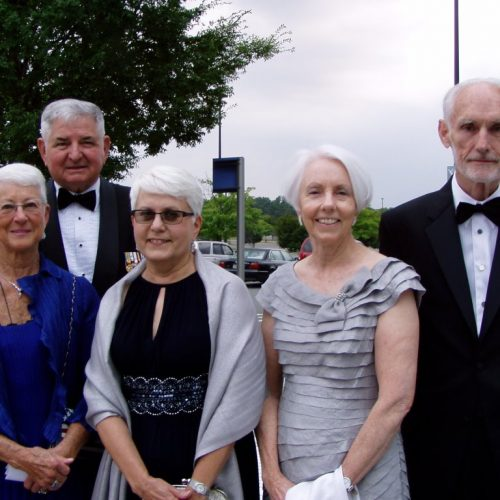 Jane and Ron Fogleman Connie Connally Anne Whitley and Tony McPeak