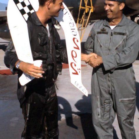 292 missions...last flight 12/1986