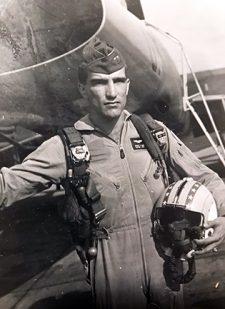 Oaks_Robert F-100 service era photo