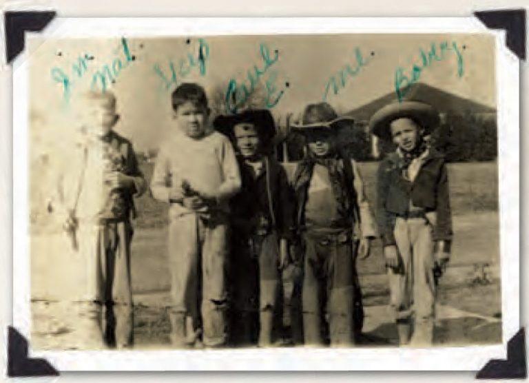 Forrest Fenn With Childhood Friends