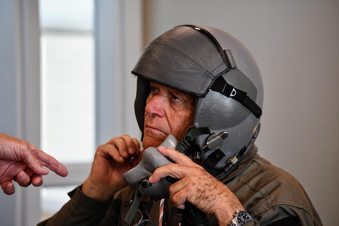 John at briefing