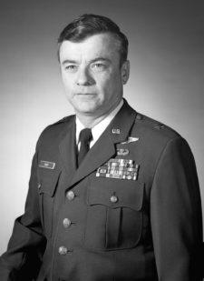 Major General John M. Davey, USAF (uncovered)
